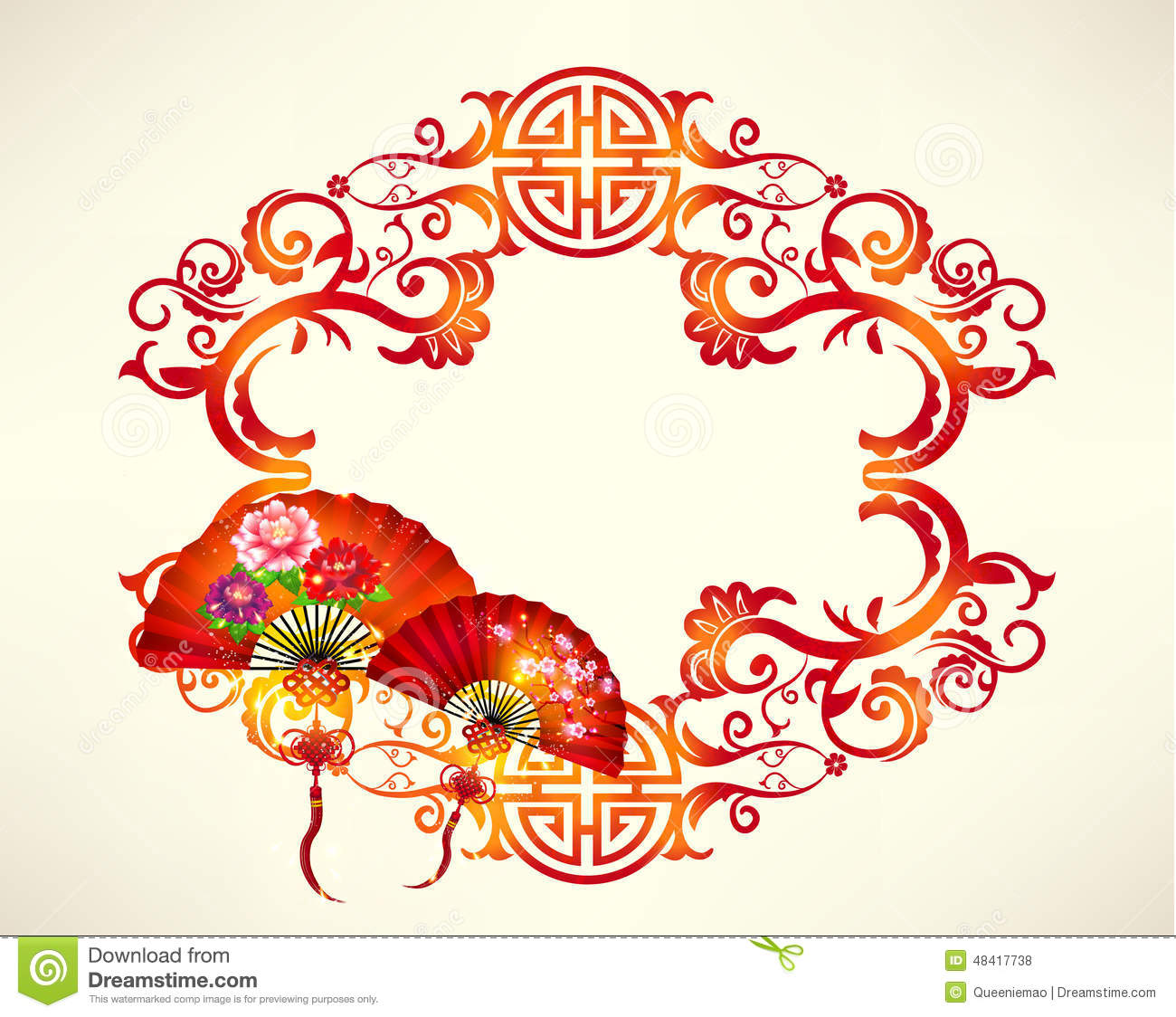 happy chinese new year vector design stock illustration