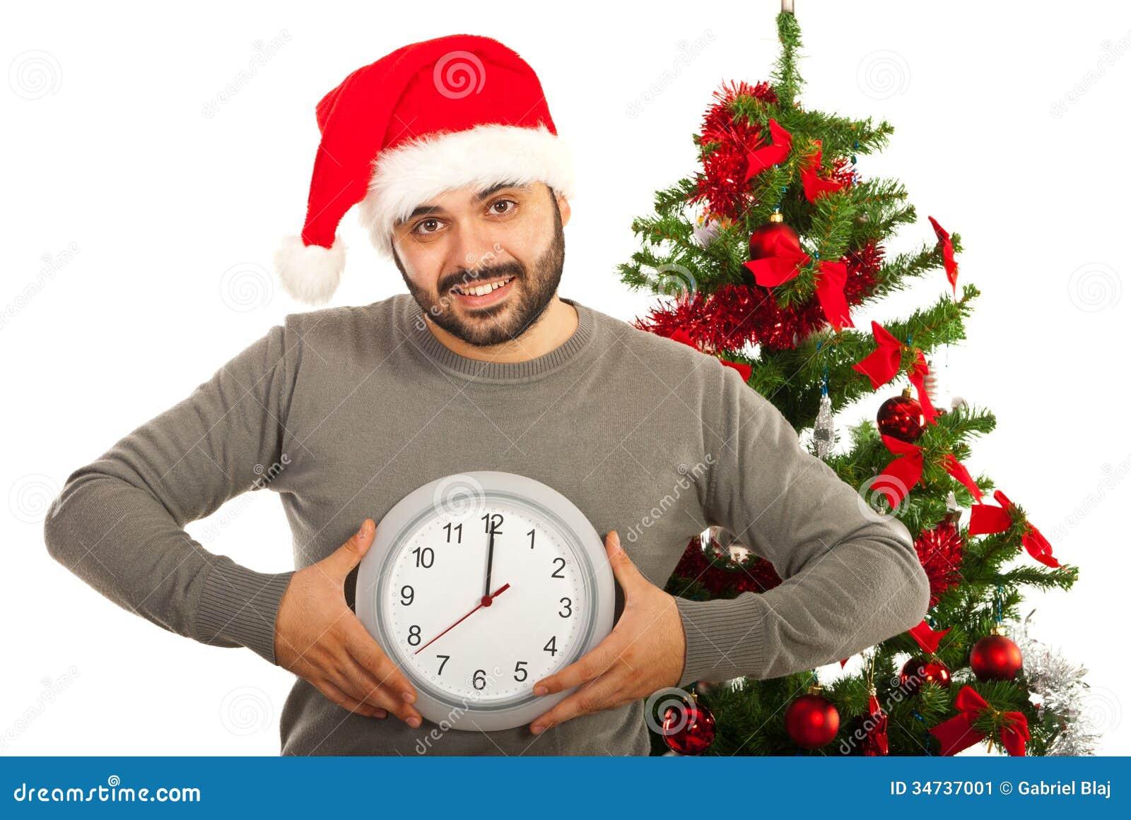 Happy Christmas Man Stock Image - Image: 34737001