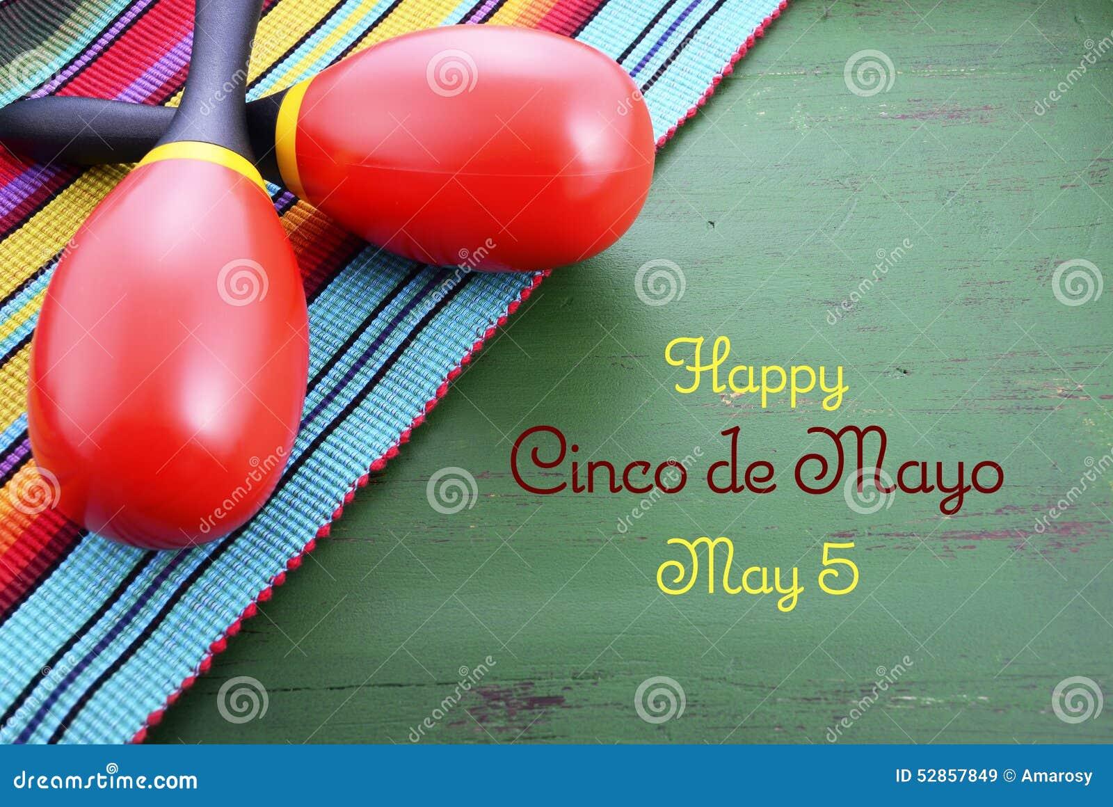 Happy Cinco de Mayo background