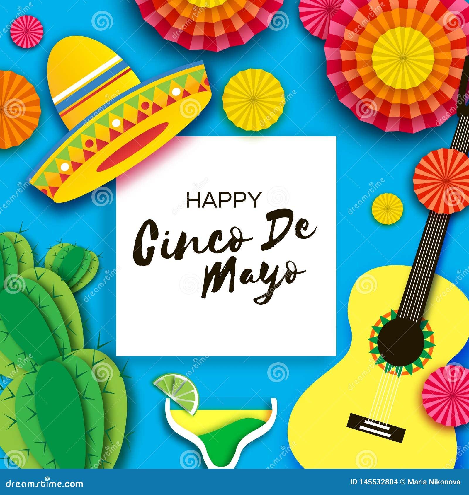Happy Cinco De Mayo Greeting Card ...