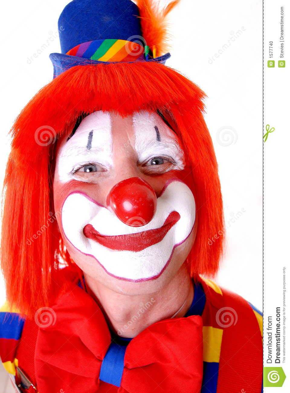 Happy Clown stock photo. Image of feather, animal ...