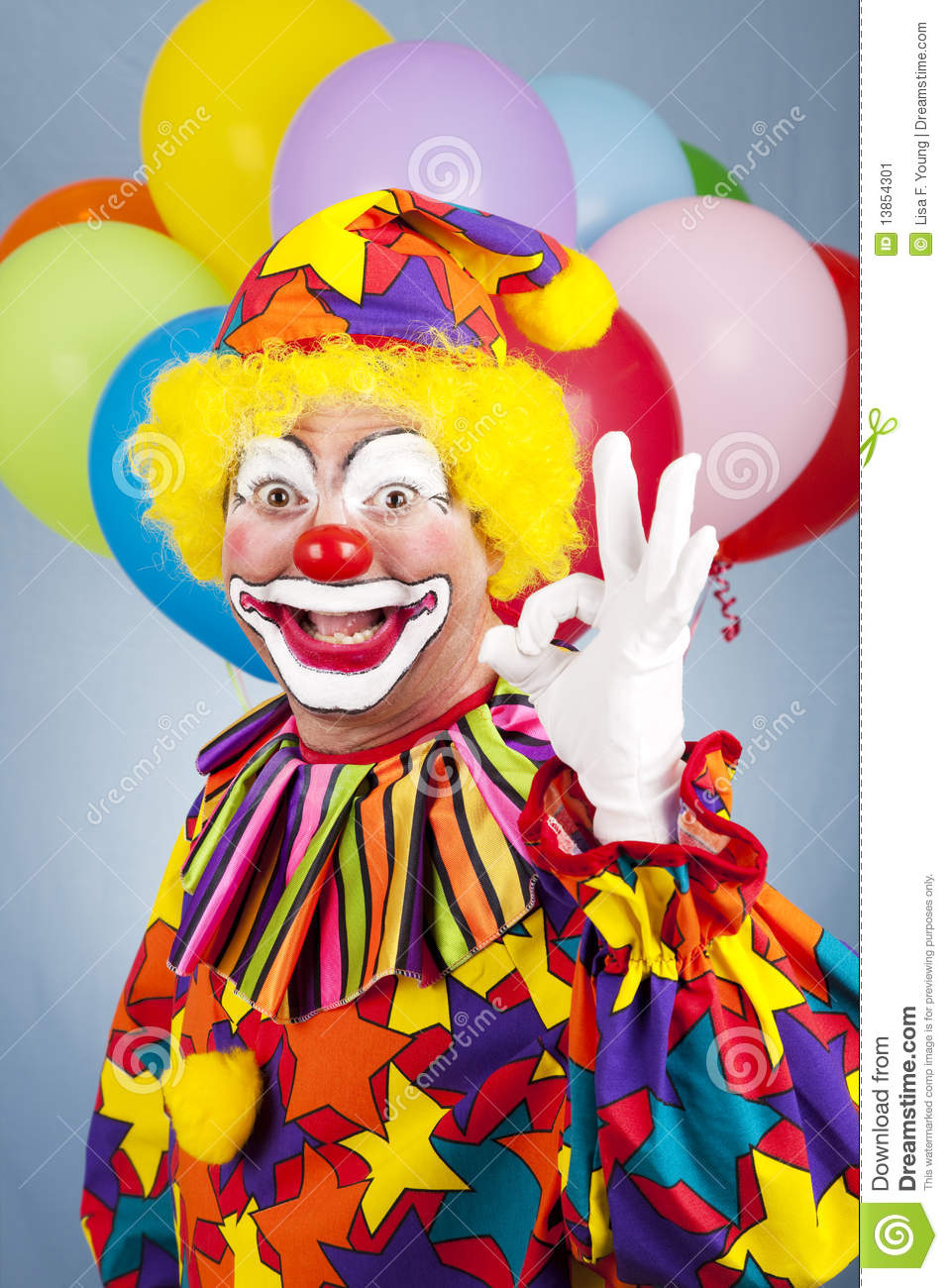 Happy Clown - AOkay stock image. Image of entertainer ... Happy Clown Pictures