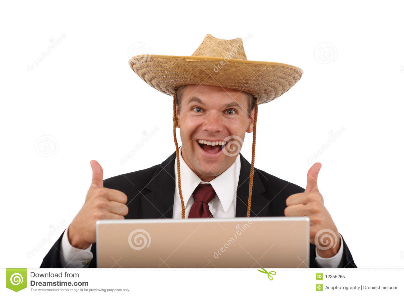 Royalty Free Stock Photo Happy  puter Man Thumbs Up Image12355265 on on studying laptop cartoon