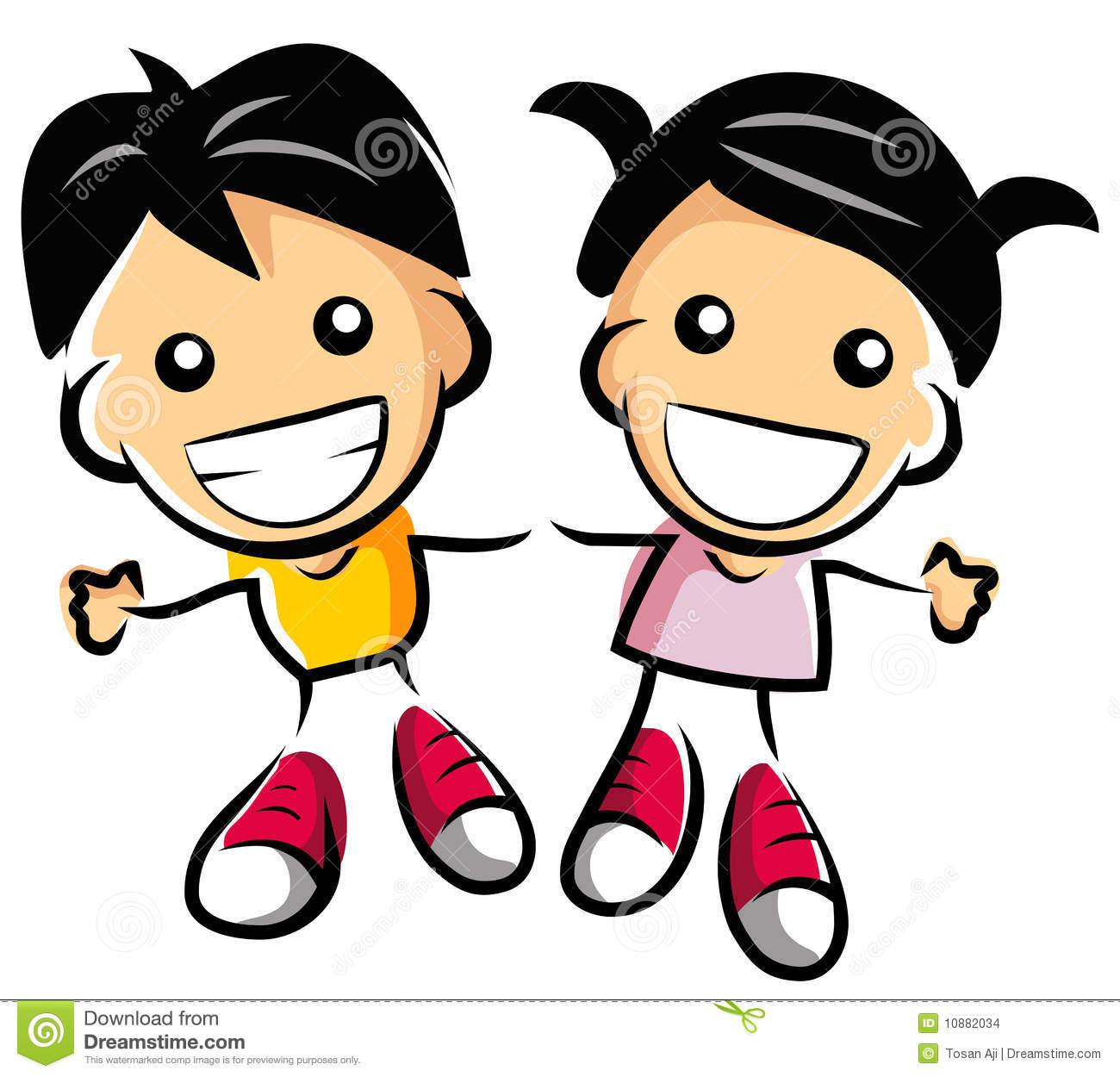 happy couple kids stock illustration illustration of