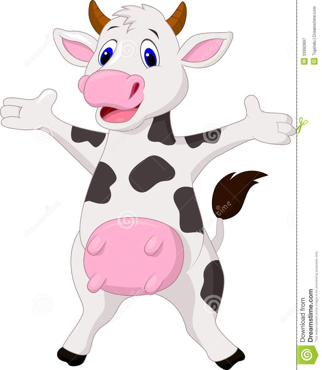 Free Baby Cow Clipart