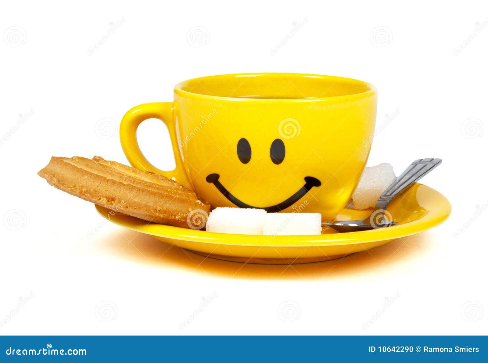 Happy Cup Of Tea Stock Photo - Image: 10642290