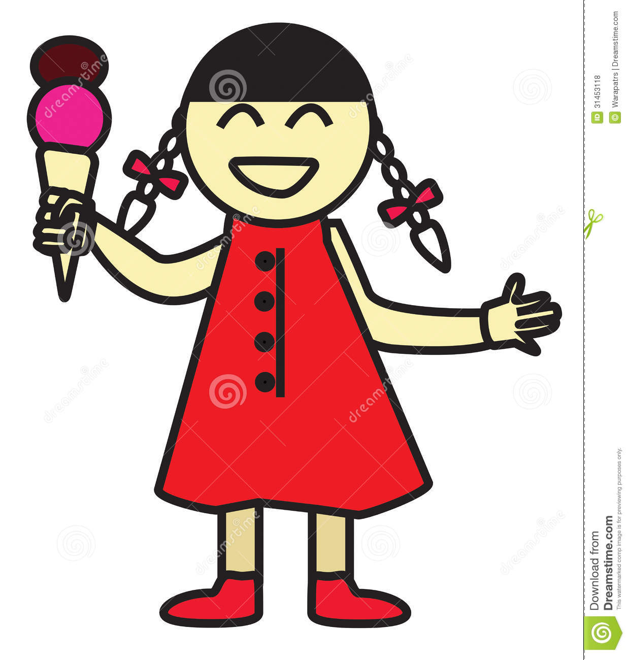 girl eating ice cream cartoon 7751 loadtve happy birthday dog clipart free happy friday dog clipart