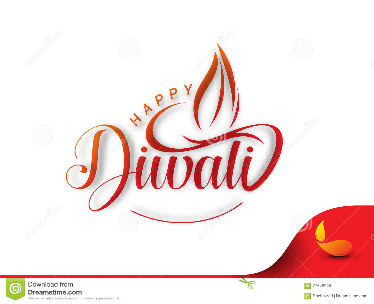 Happy Diwali Background Stock Vector Illustration Of Hindu