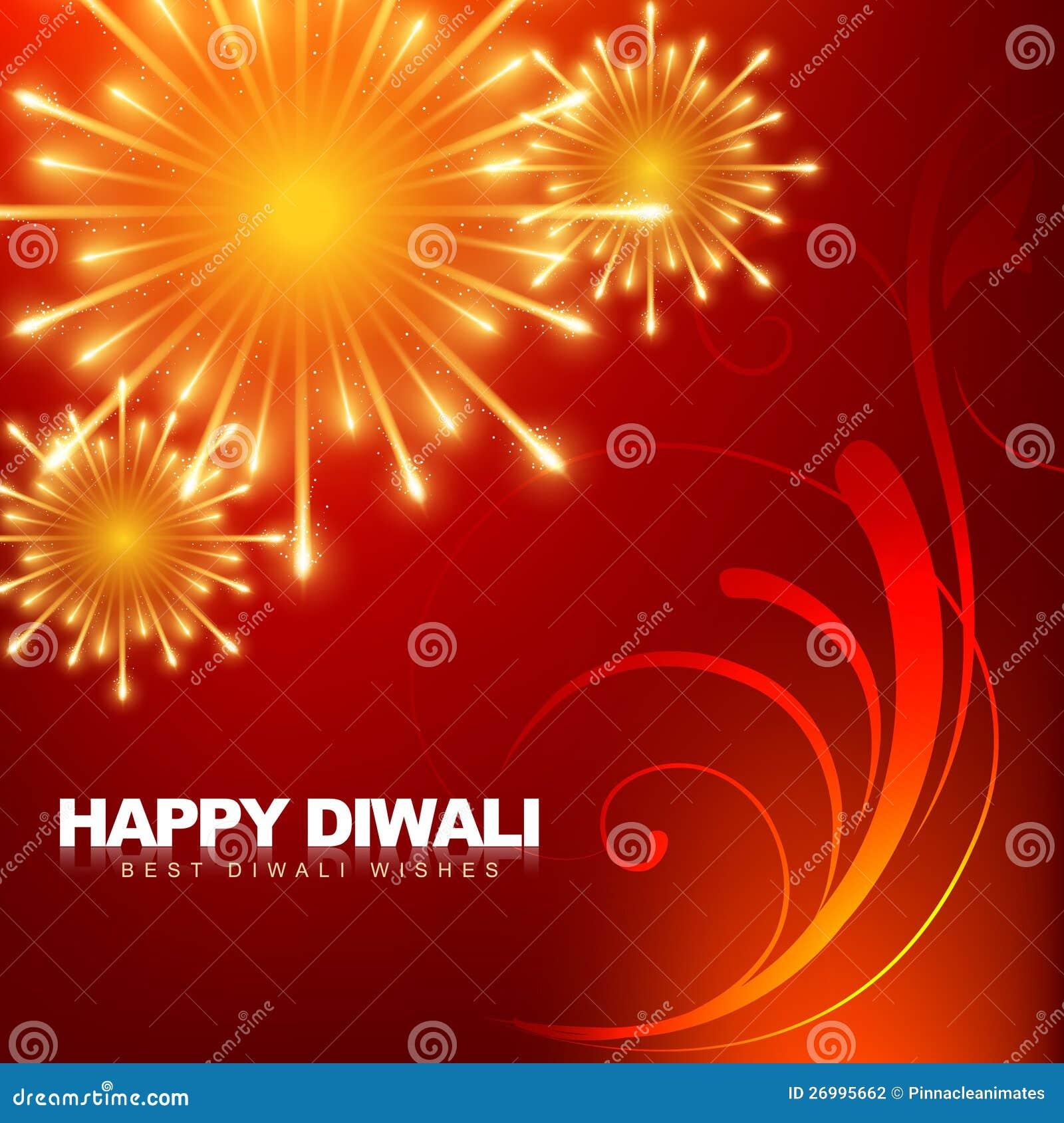 Happy Diwali Fireworks Stock Photography - Image: 26995662