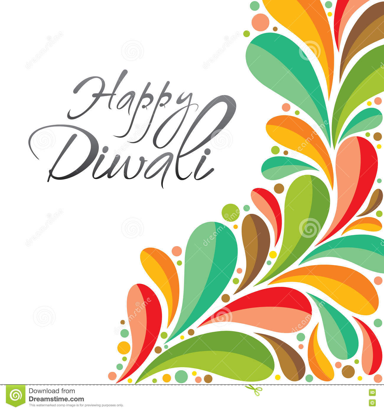 Happy diwali greeting card design stock vector illustration of happy diwali greeting card design royalty free vector download kristyandbryce Image collections