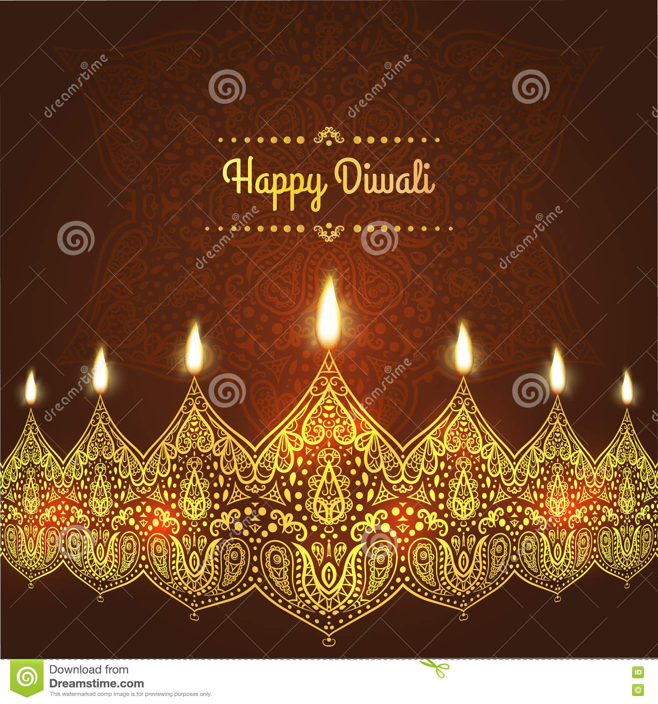 Happy diwali greeting card design for diwali festival with download comp m4hsunfo