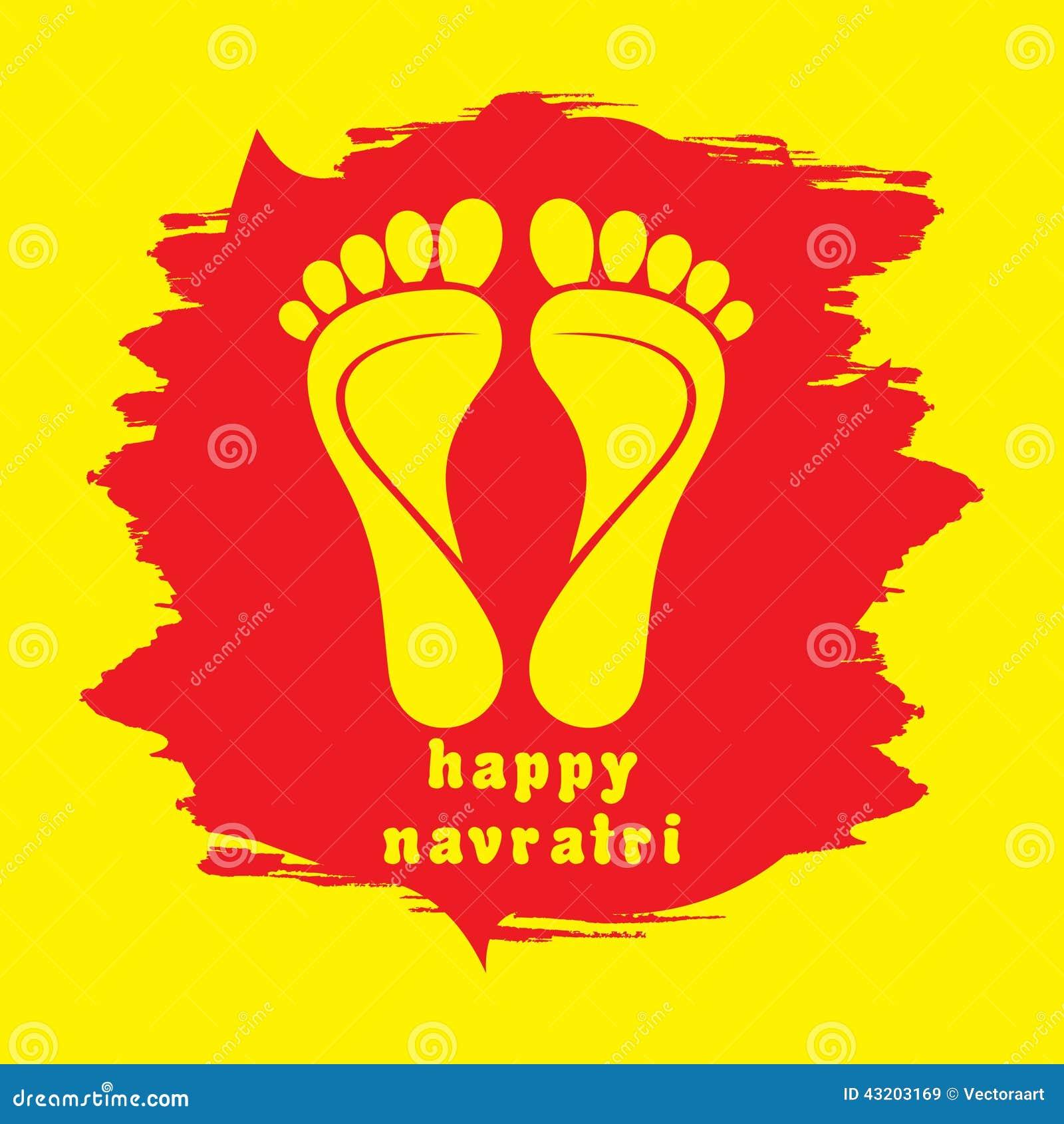 Happy diwali or navratri festival greeting card stock vector happy diwali or navratri festival greeting card kristyandbryce Choice Image