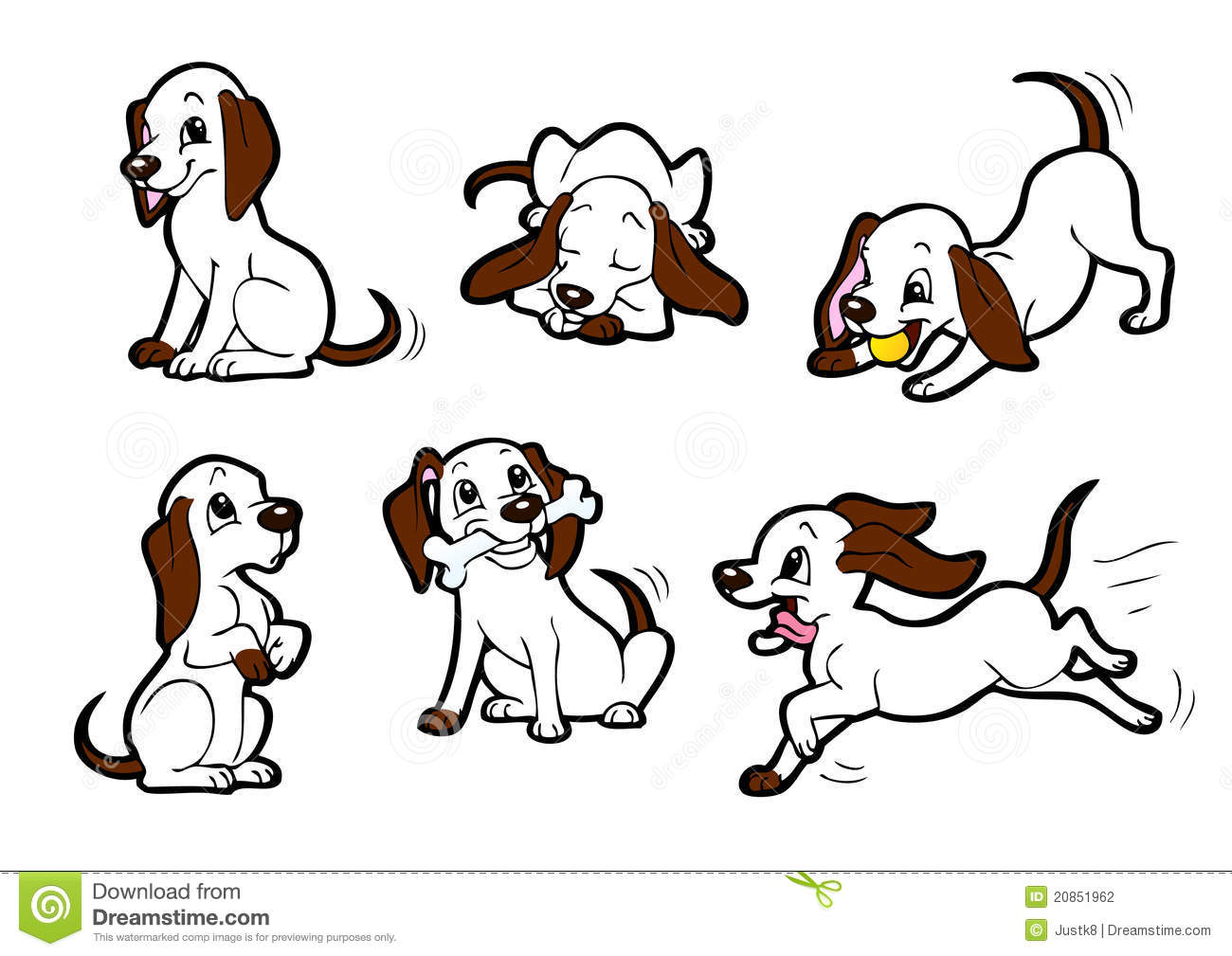 Happy Dog Stock Photography - Image: 20851962