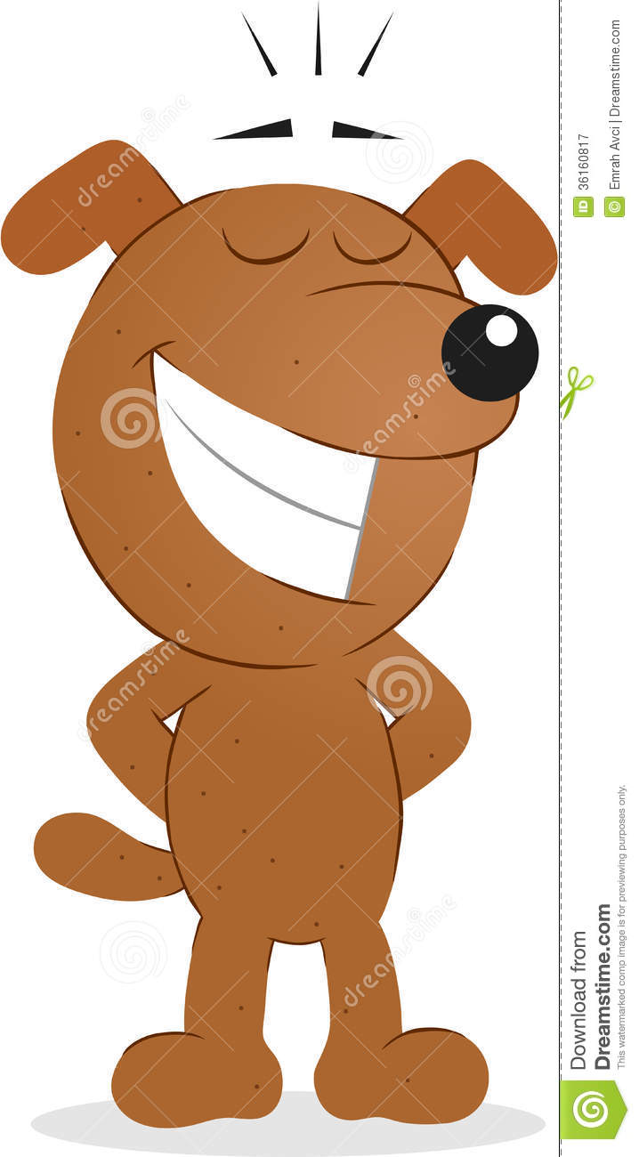 smiling dog cartoon galleryhip     the hippest galleries