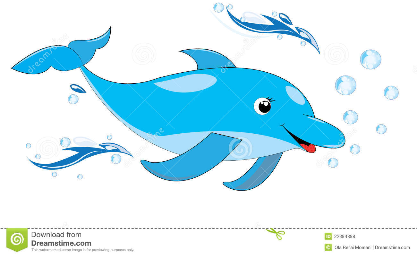 Happy Dolphin Royalty Free Stock Photos - Image: 22394898