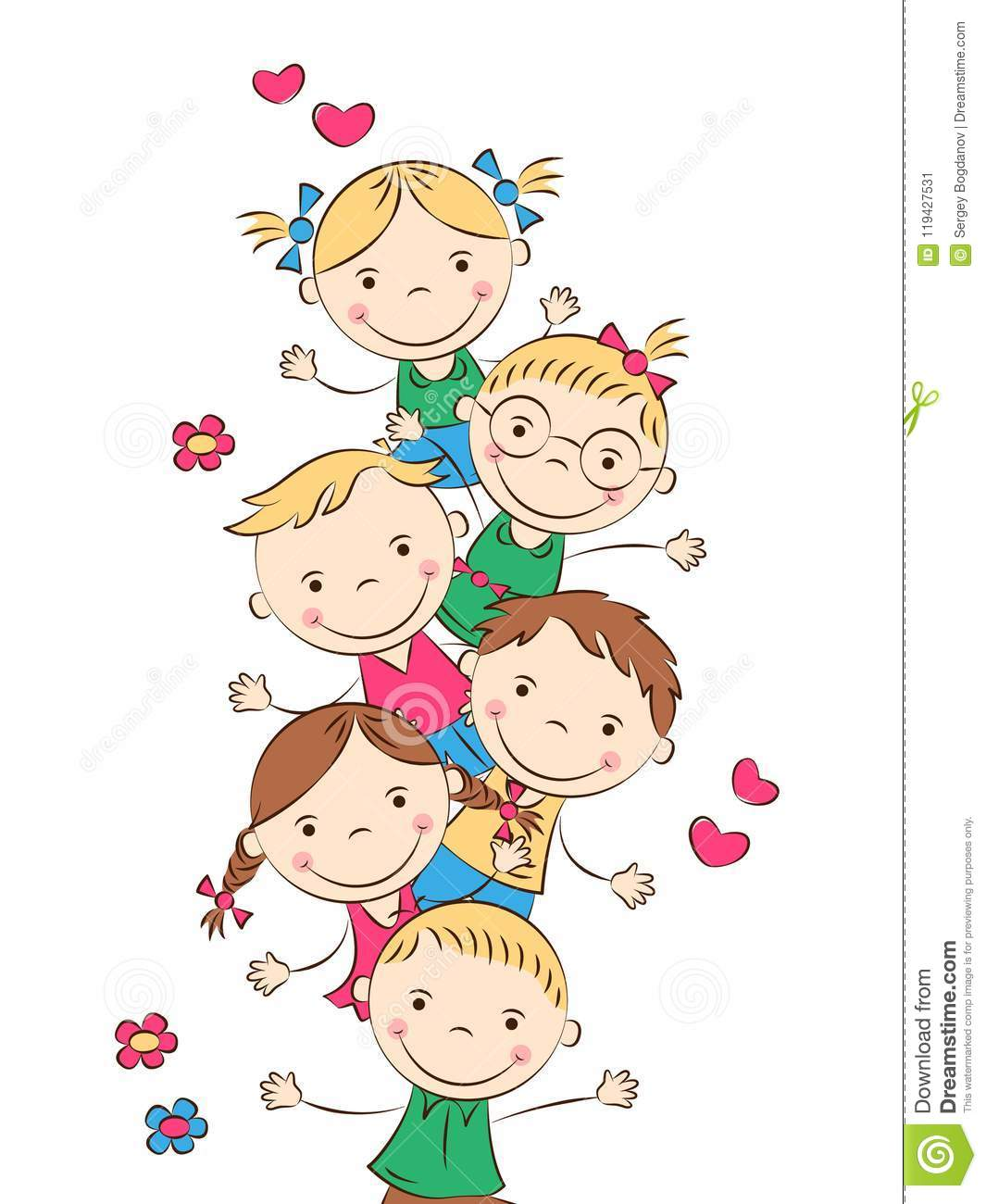 Funny Cartoon Images Of Boys funny cartoon kids stock vector. illustration of isolated