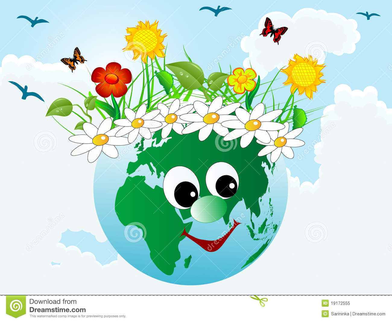 happy earth 19172555