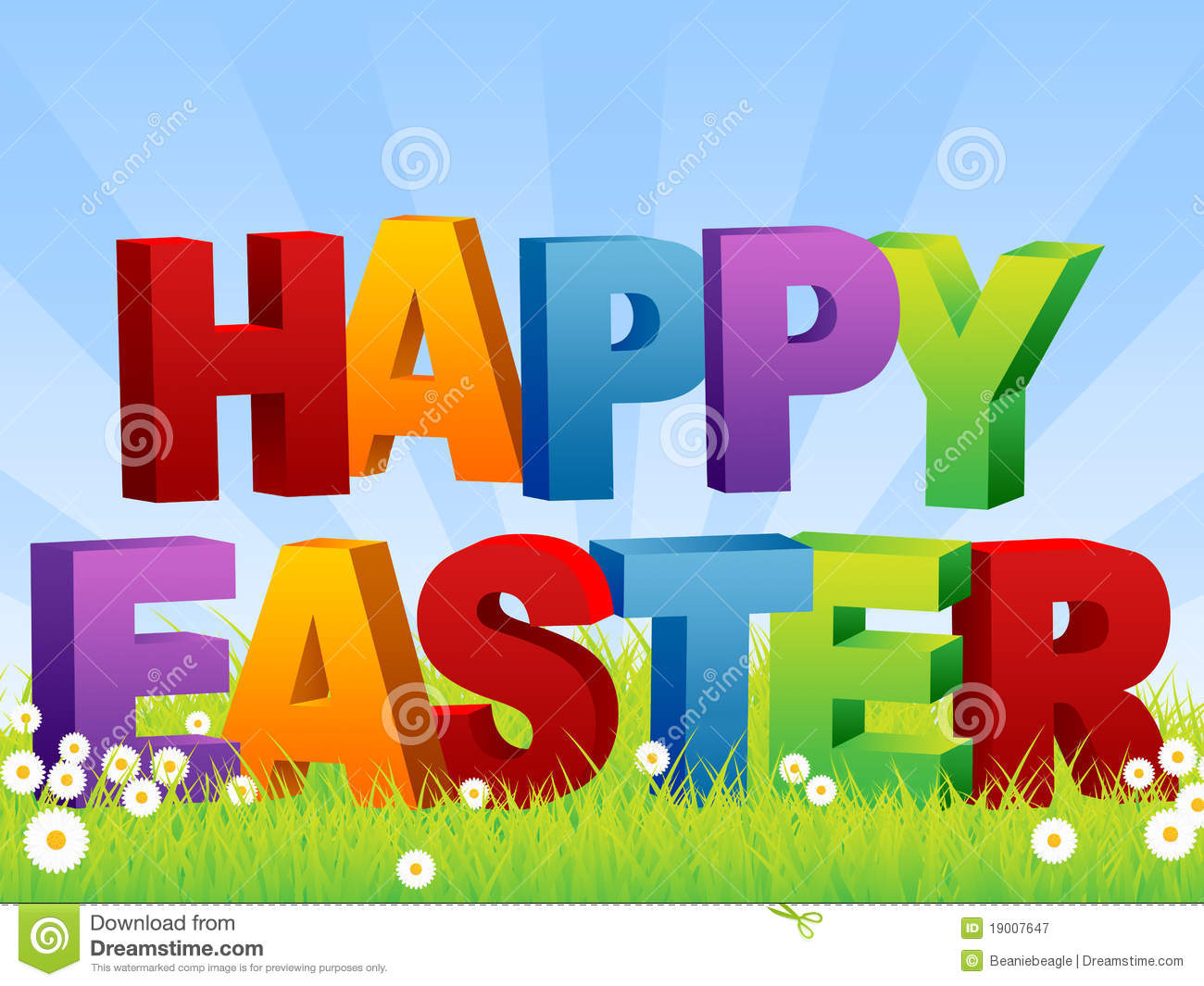 happy easter royalty free stock photography image 19007647
