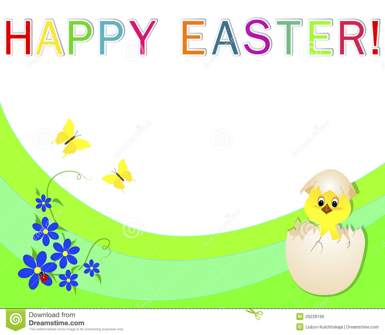 Happy Easter Religious Banner - Floral delivery