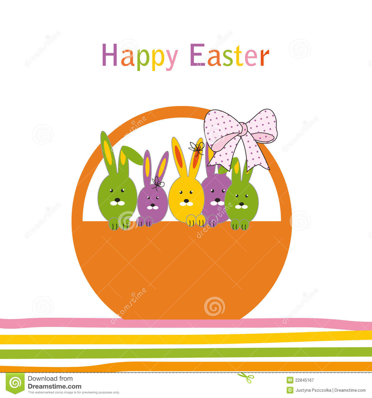 Happy Easter Card Royalty Free Photography Image 22845167 – Happy Easter Card