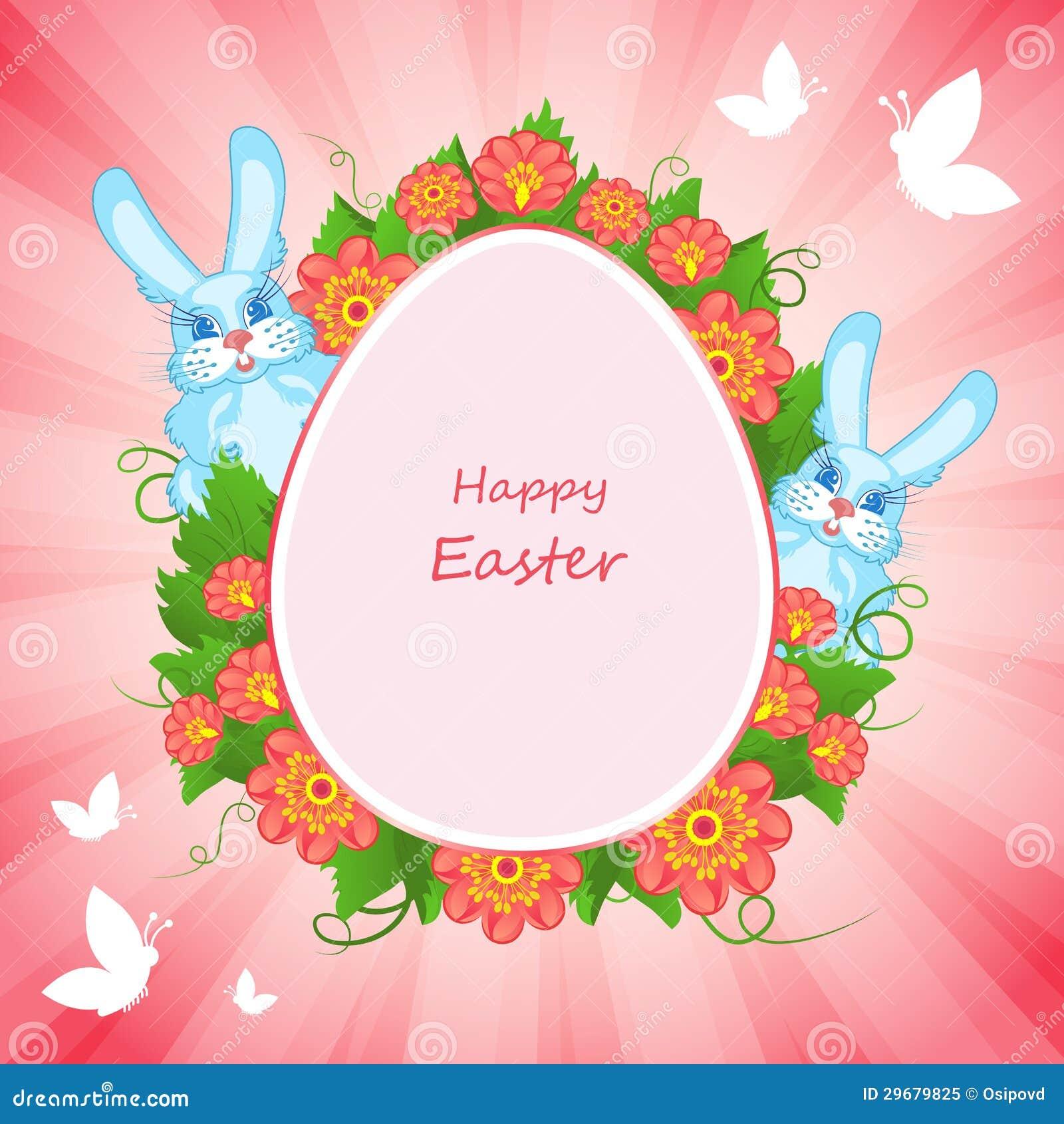 happy easter bunnies flowers-#10