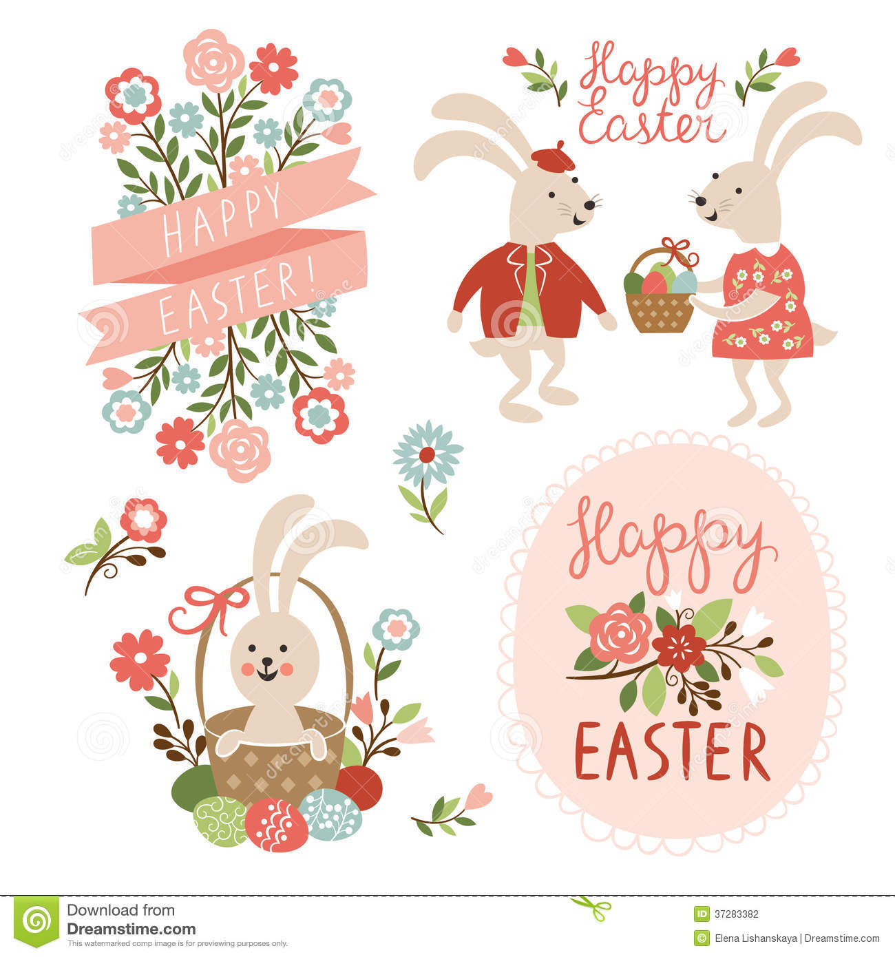 Happy Easter Cards Illustration Photography Image 37283382 – Easter Cards