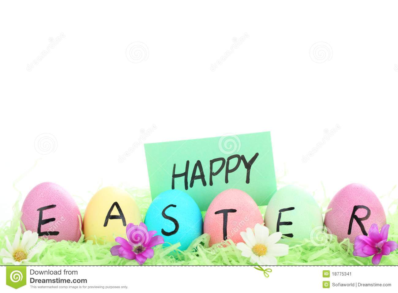 Happy Easter Day Stock Image   Image  18775341 4yT1E8fO