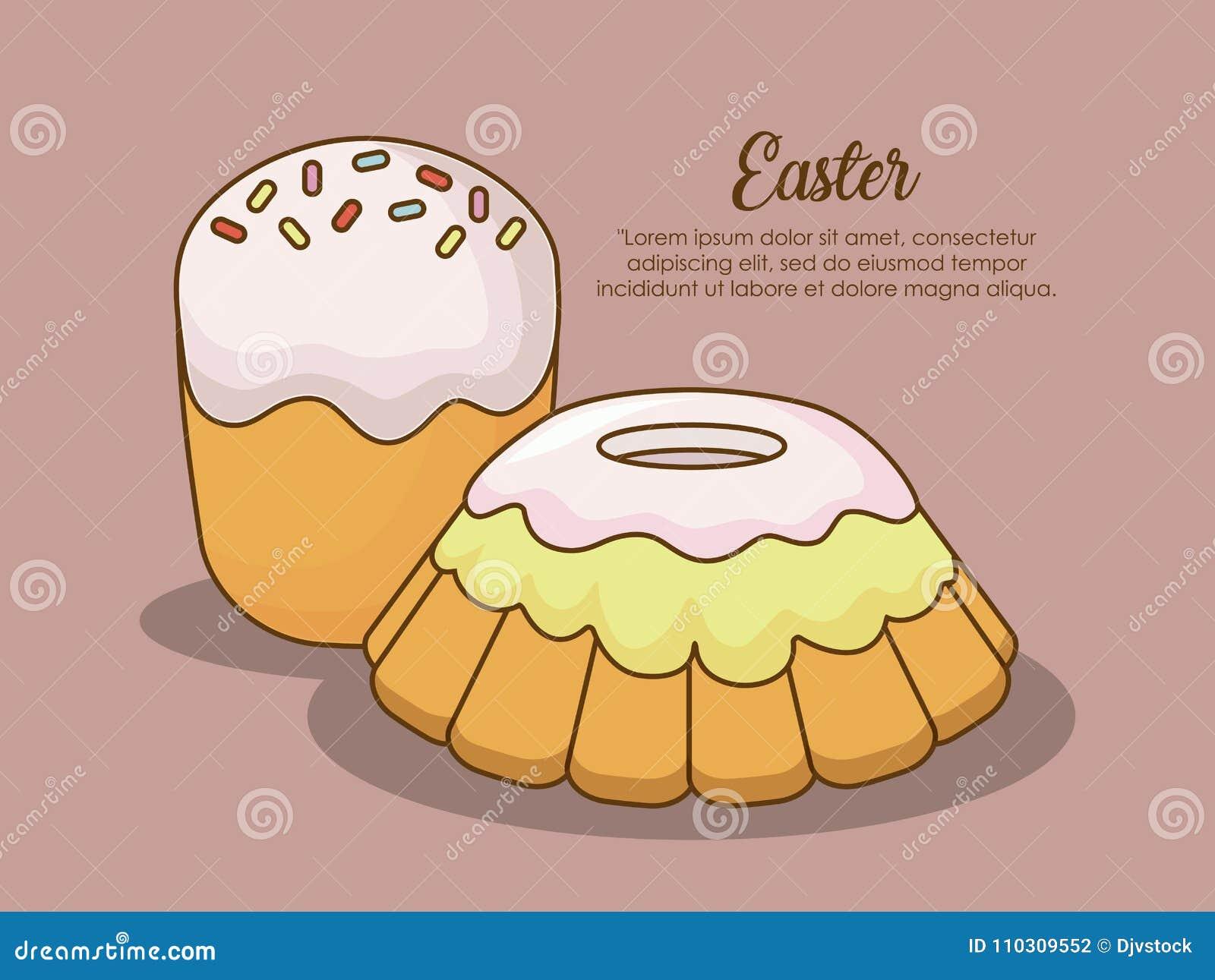 Happy easter day design stock vector. Illustration of jesus - 110309552