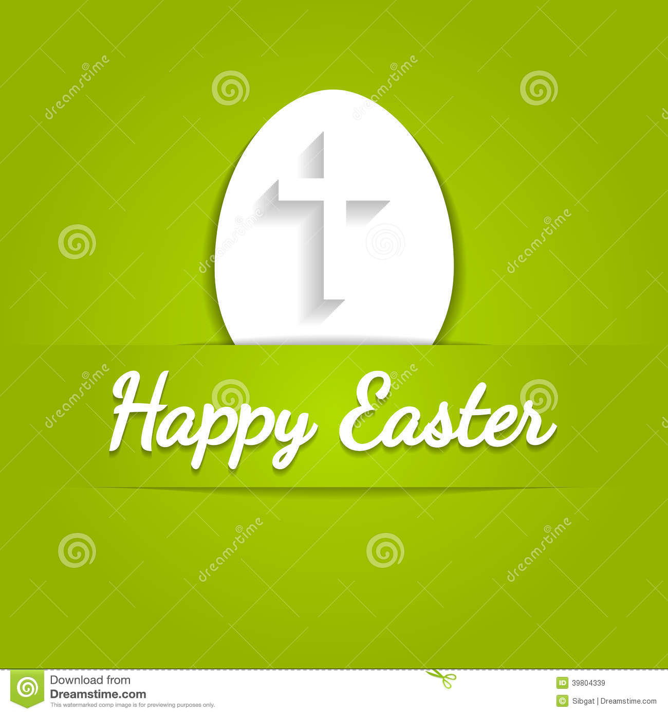Happy easter eggs card with cross symbol stock vector happy easter eggs card with cross symbol buycottarizona
