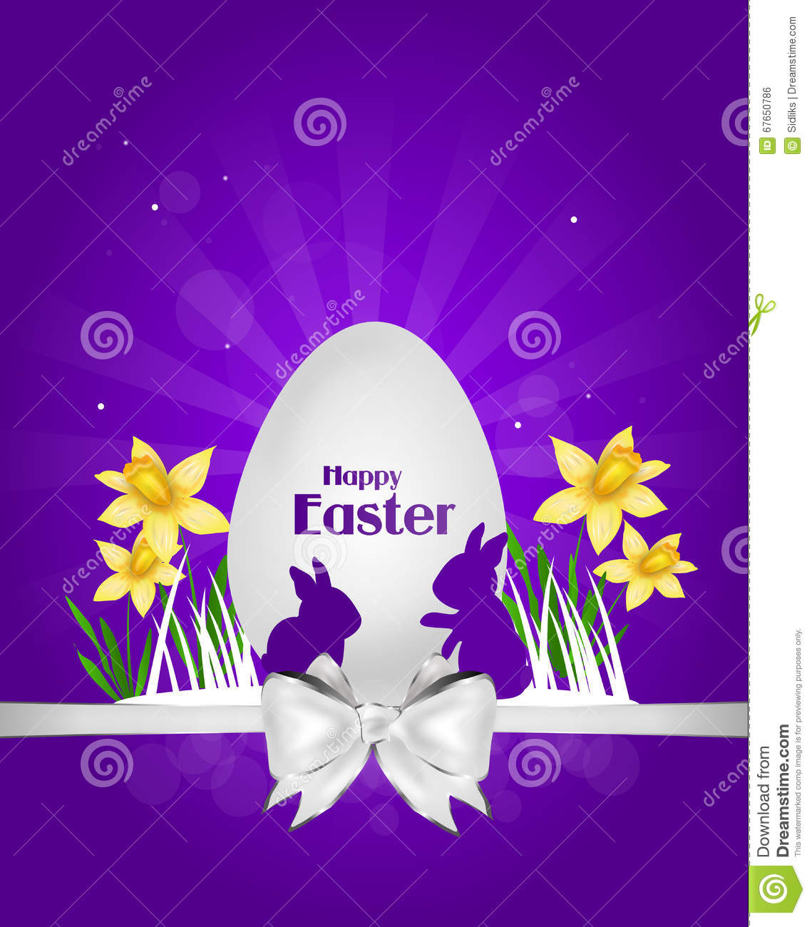 Happy easter greeting card stock illustration illustration of happy easter greeting card m4hsunfo