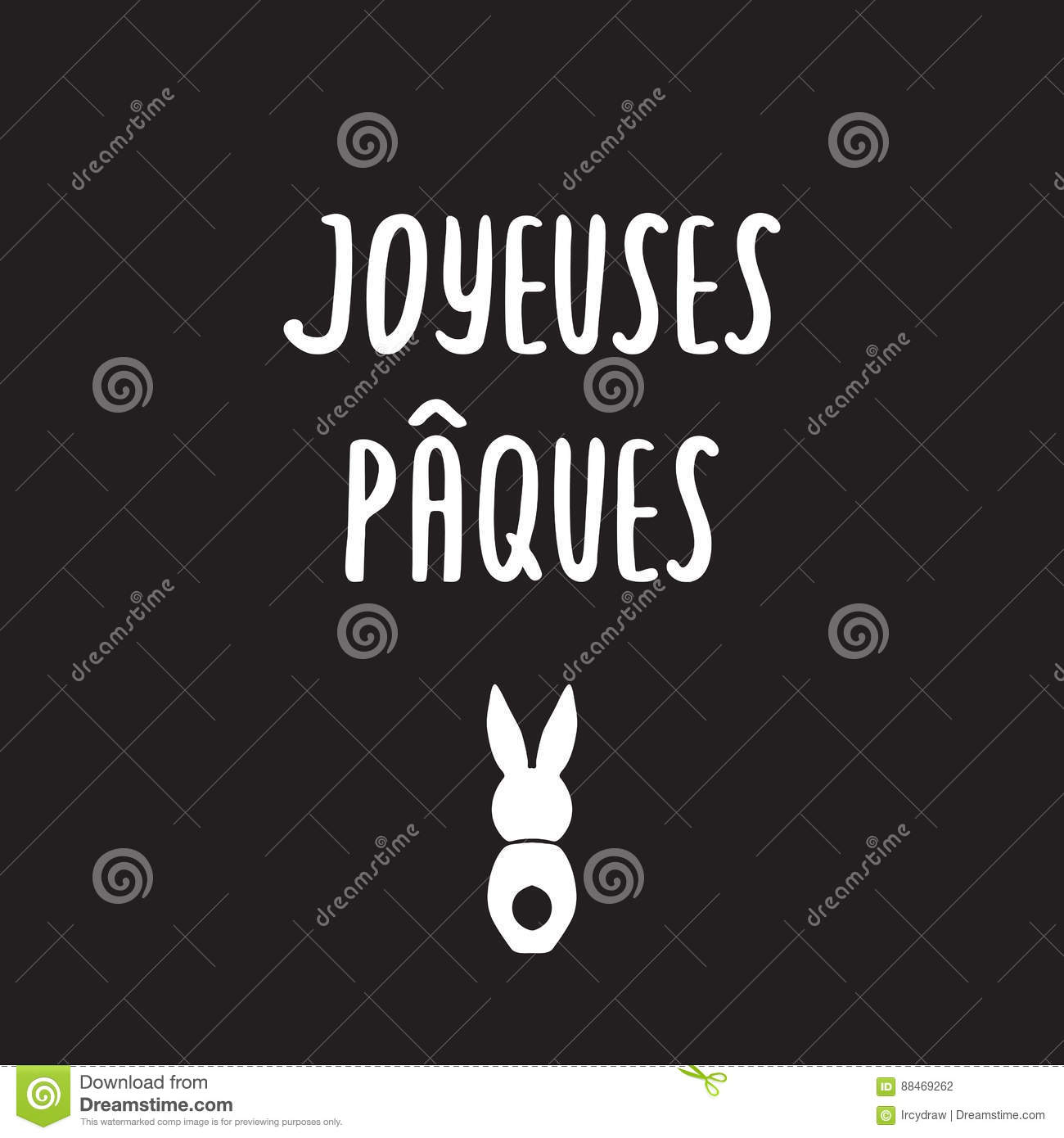 Happy Easter Greeting Card Template Vector Image 88469262 – Easter Greeting Card Template
