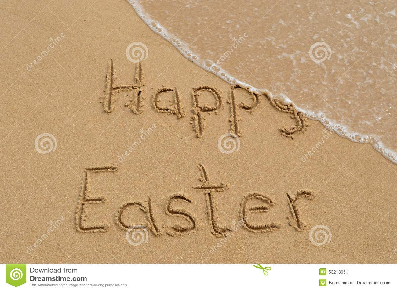 Happy easter greetings stock image image of beach greetings 53213961 happy easter greetings kristyandbryce Images