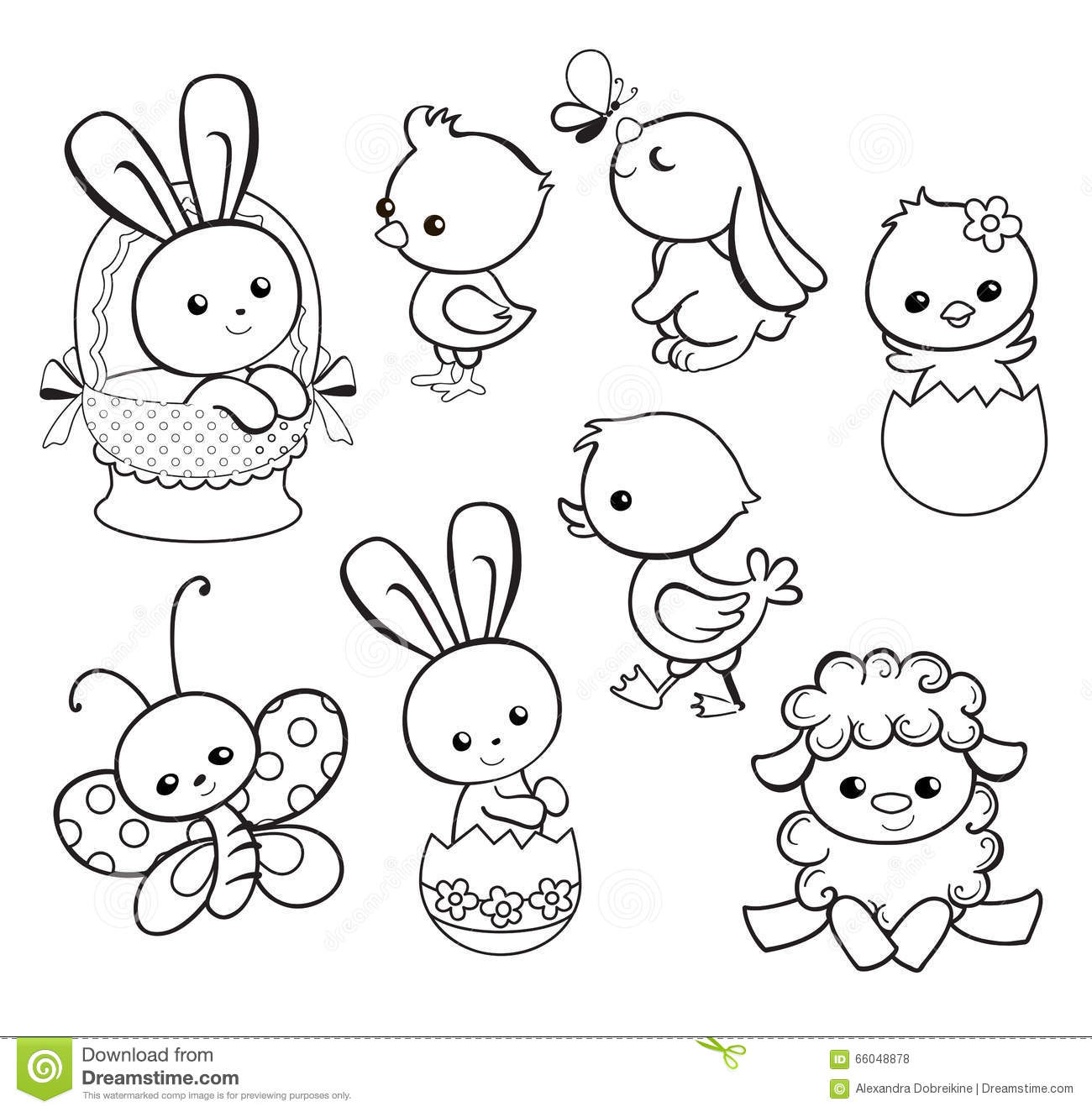 happy easter chick coloring pages - photo#18