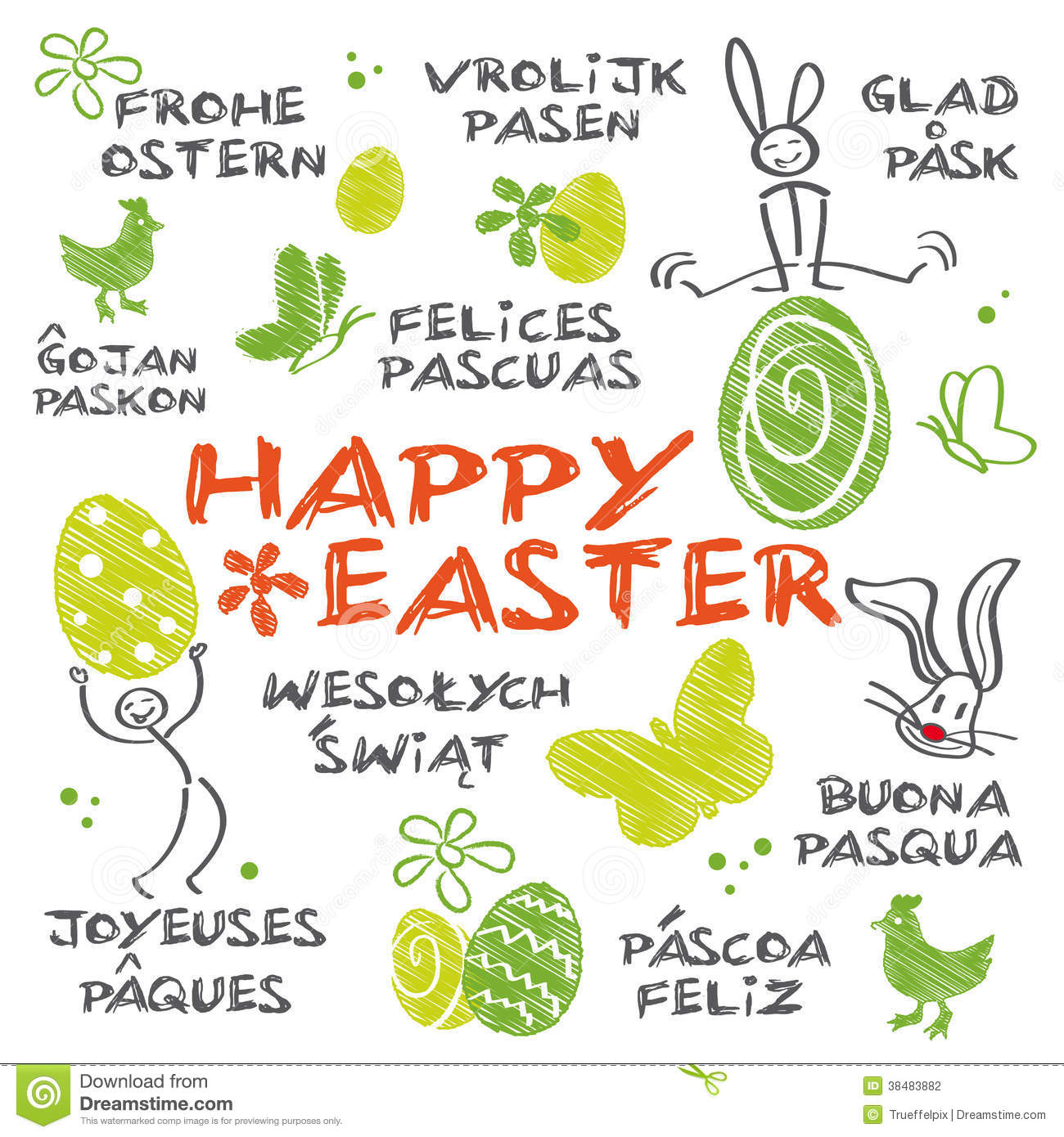Happy easter languages merry christmas and happy new year 2018 happy easter languages kristyandbryce Gallery