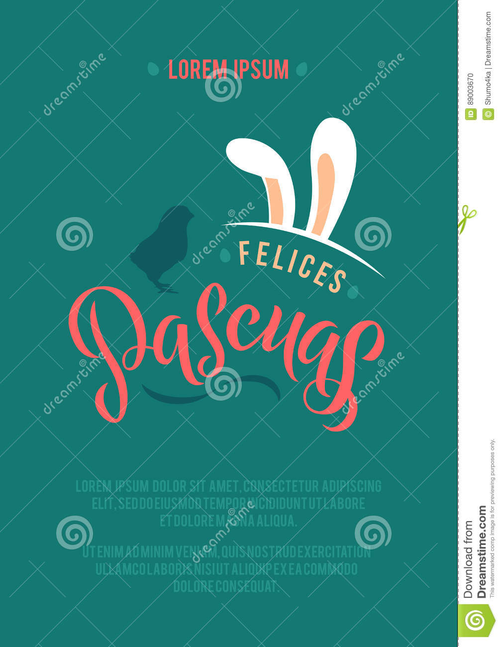 Happy easter spanish calligraphy greeting card modern brush happy easter spanish calligraphy greeting card modern brush lettering joyful wishes holiday greetings m4hsunfo