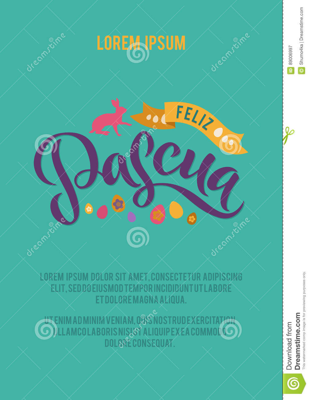 Happy easter spanish calligraphy greeting card modern brush happy easter spanish calligraphy greeting card modern brush lettering joyful wishes holiday greetings pastel background m4hsunfo