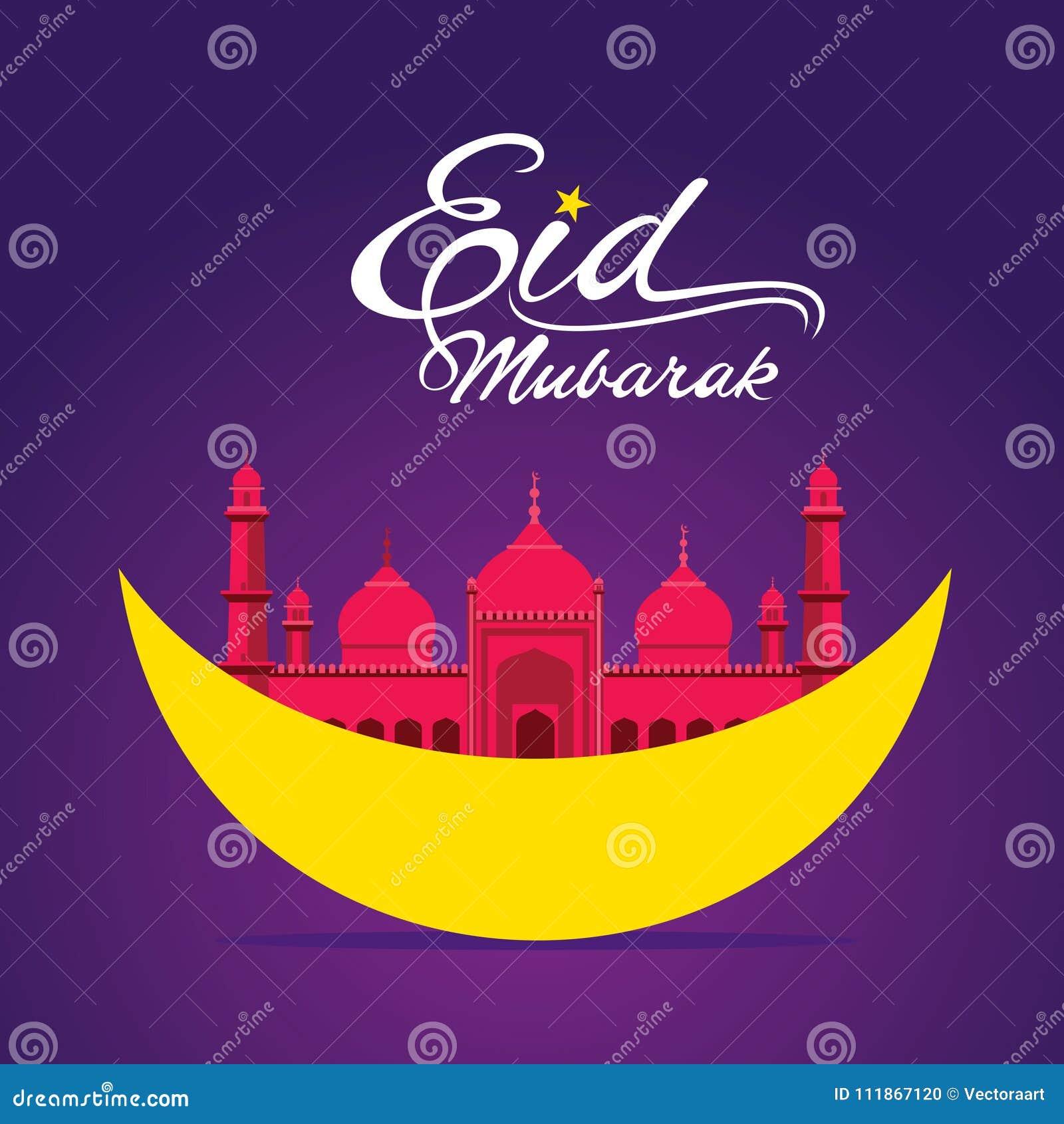 Happy eid mubarak greeting design stock vector illustration of download happy eid mubarak greeting design stock vector illustration of design arabic 111867120 m4hsunfo