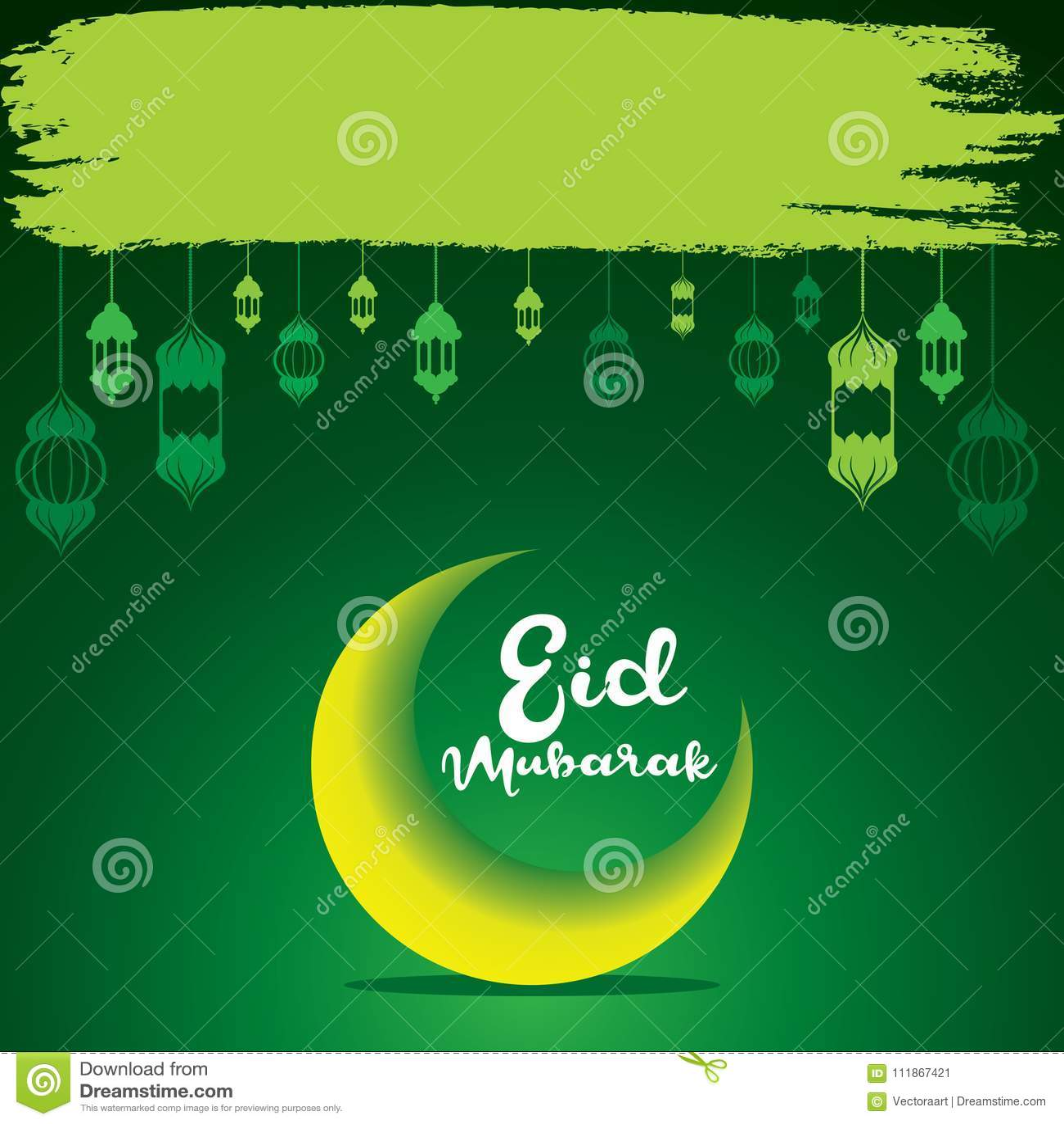 Happy eid mubarak greeting design stock vector illustration of download happy eid mubarak greeting design stock vector illustration of invitation kareem 111867421 m4hsunfo
