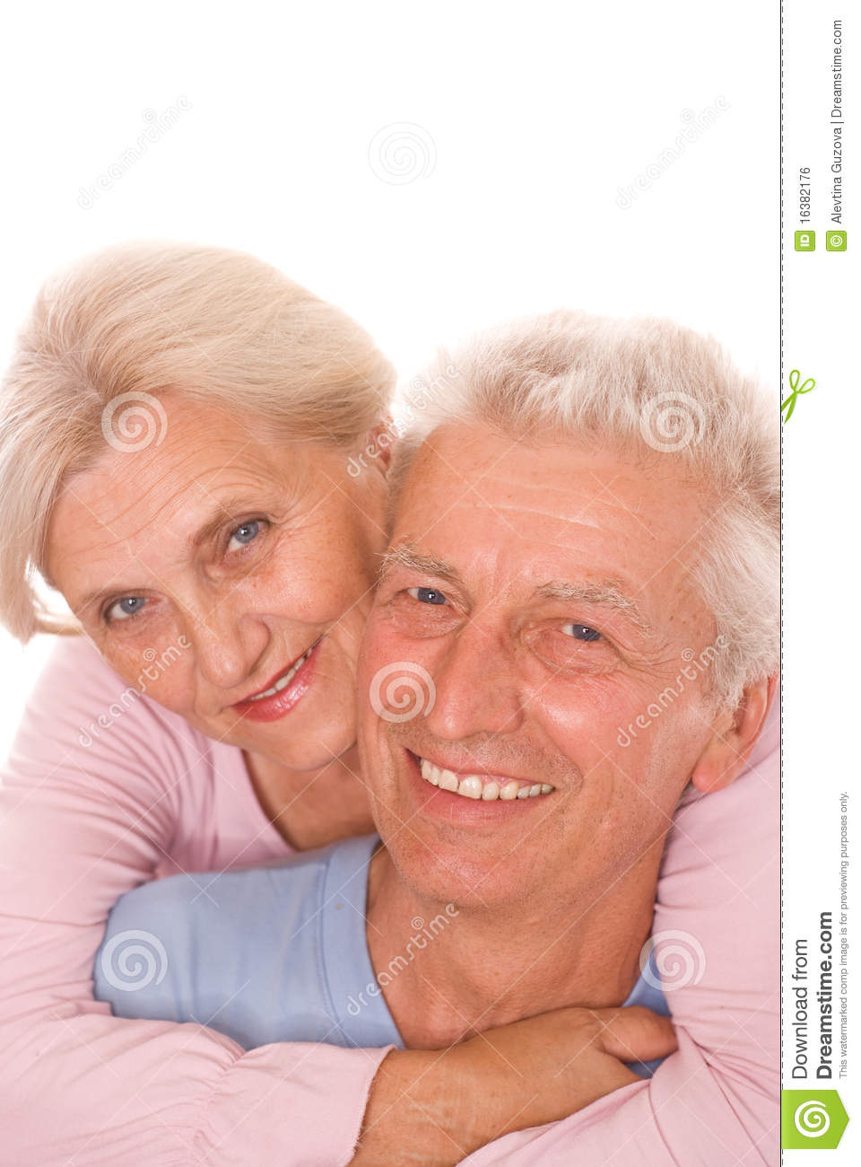 Royalty Free Stock Image  Happy elderly coupleHappy Elderly Couple