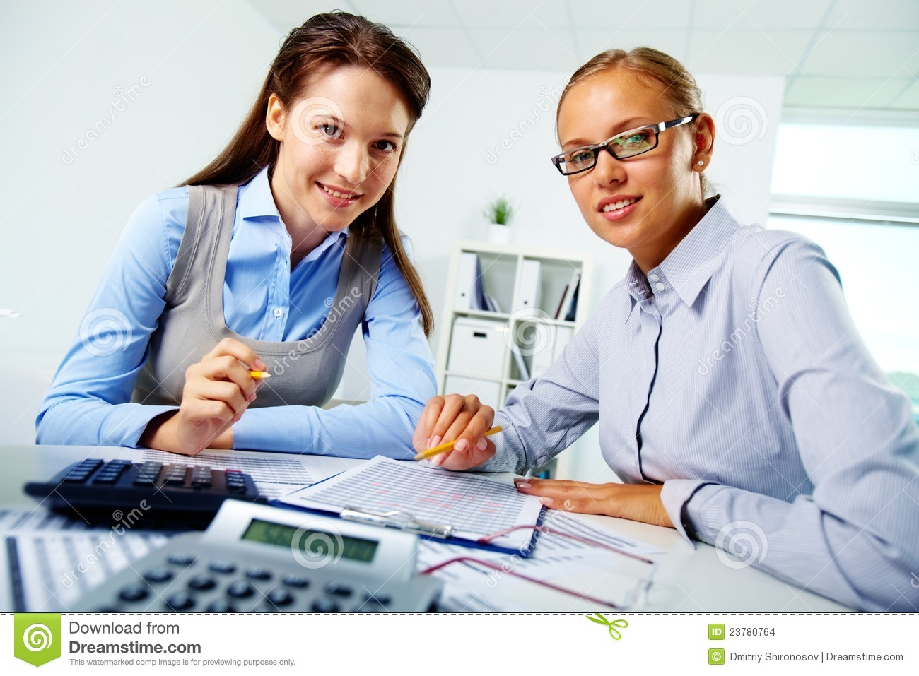 Happy Employees Stock Images  Image: 23780764