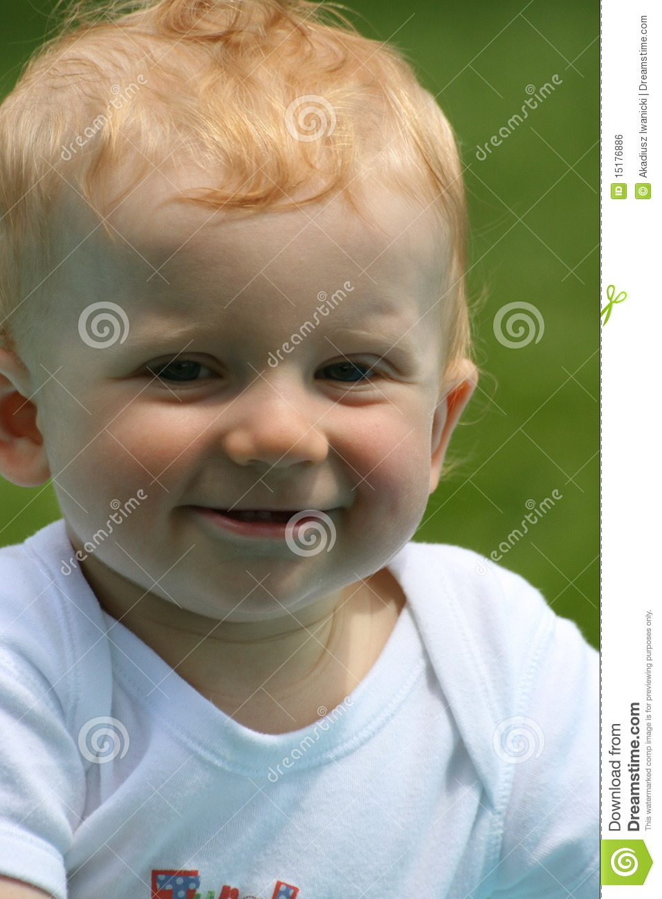 Happy Face Of A Baby Boy Royalty Free Stock Image - Image ...