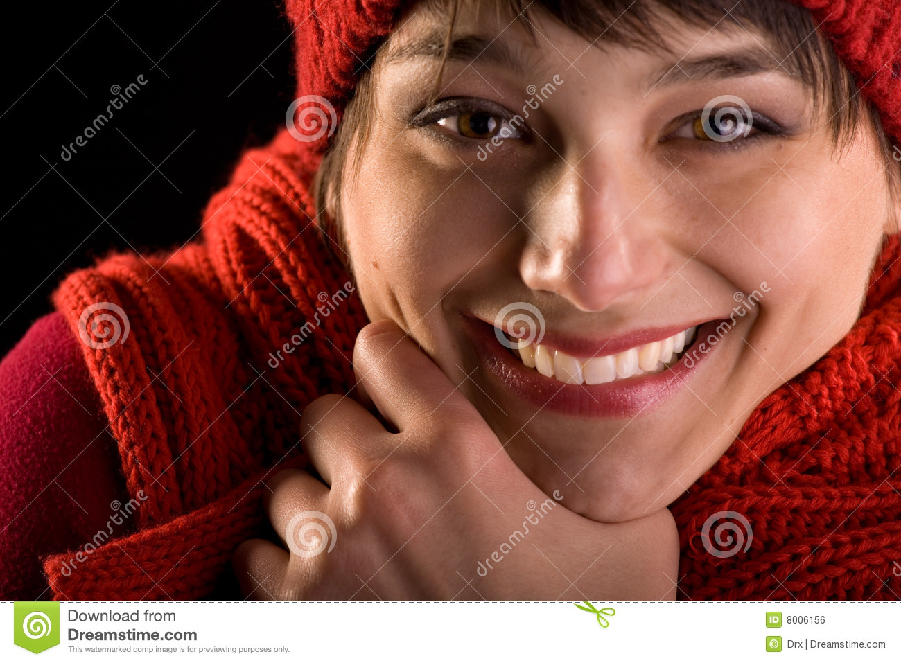 Happy Face Expression - Honest Smile Royalty Free Stock ...