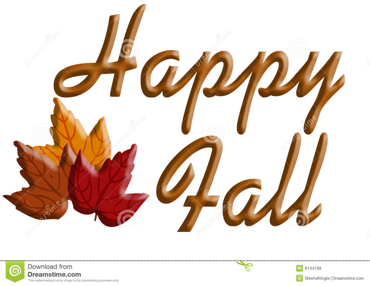 Happy Fall Royalty Free Stock Images - Image: 6144769
