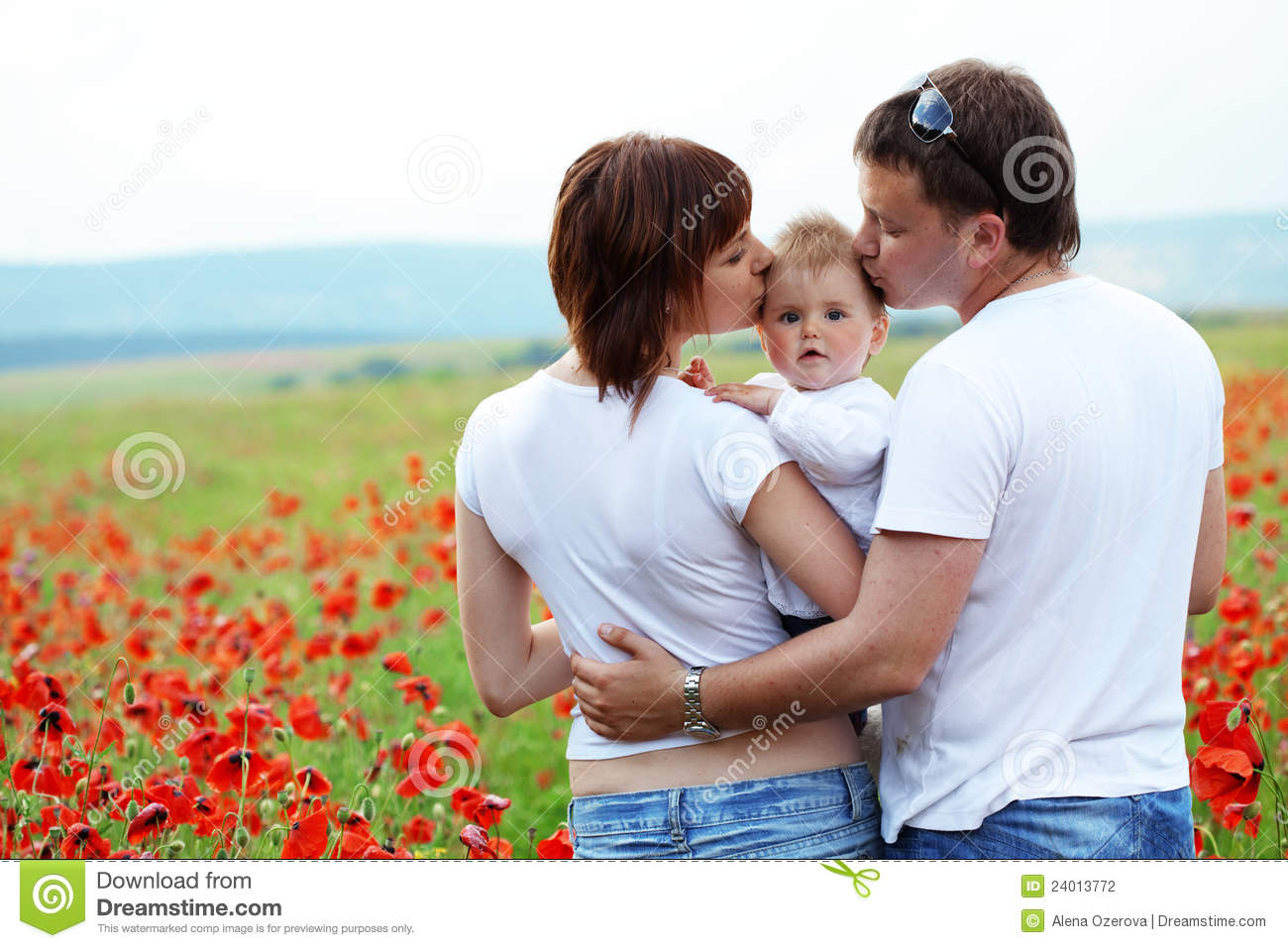 Download Happy family stock photo. Image of childhood, joyful - 24013772