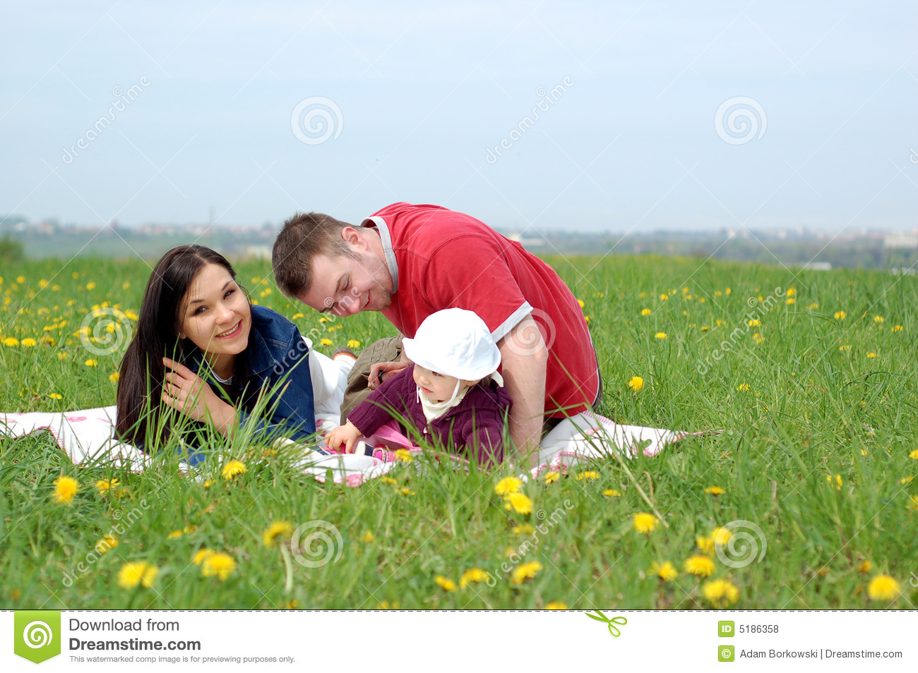 Happy Family Stock Photo Image Of Green Lifestyle Life
