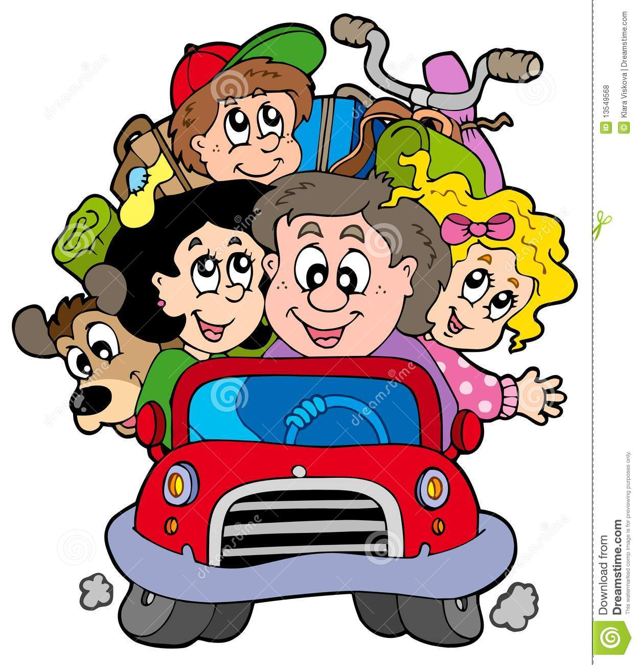 clipart of family vacation - photo #43
