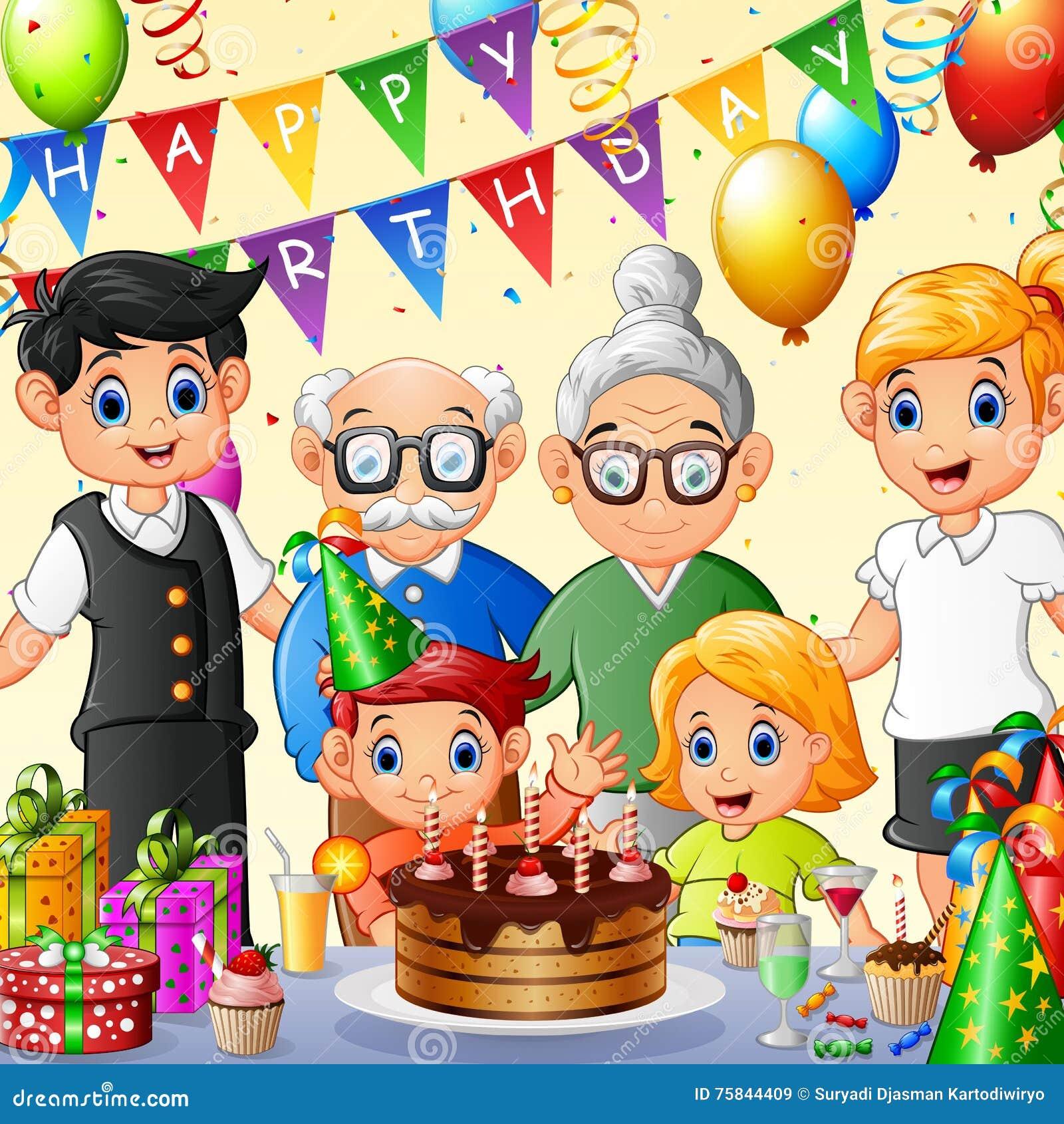 happy family celebrating birthday stock vector thanksgiving turkey clip art fly thanksgiving turkey clipart cute