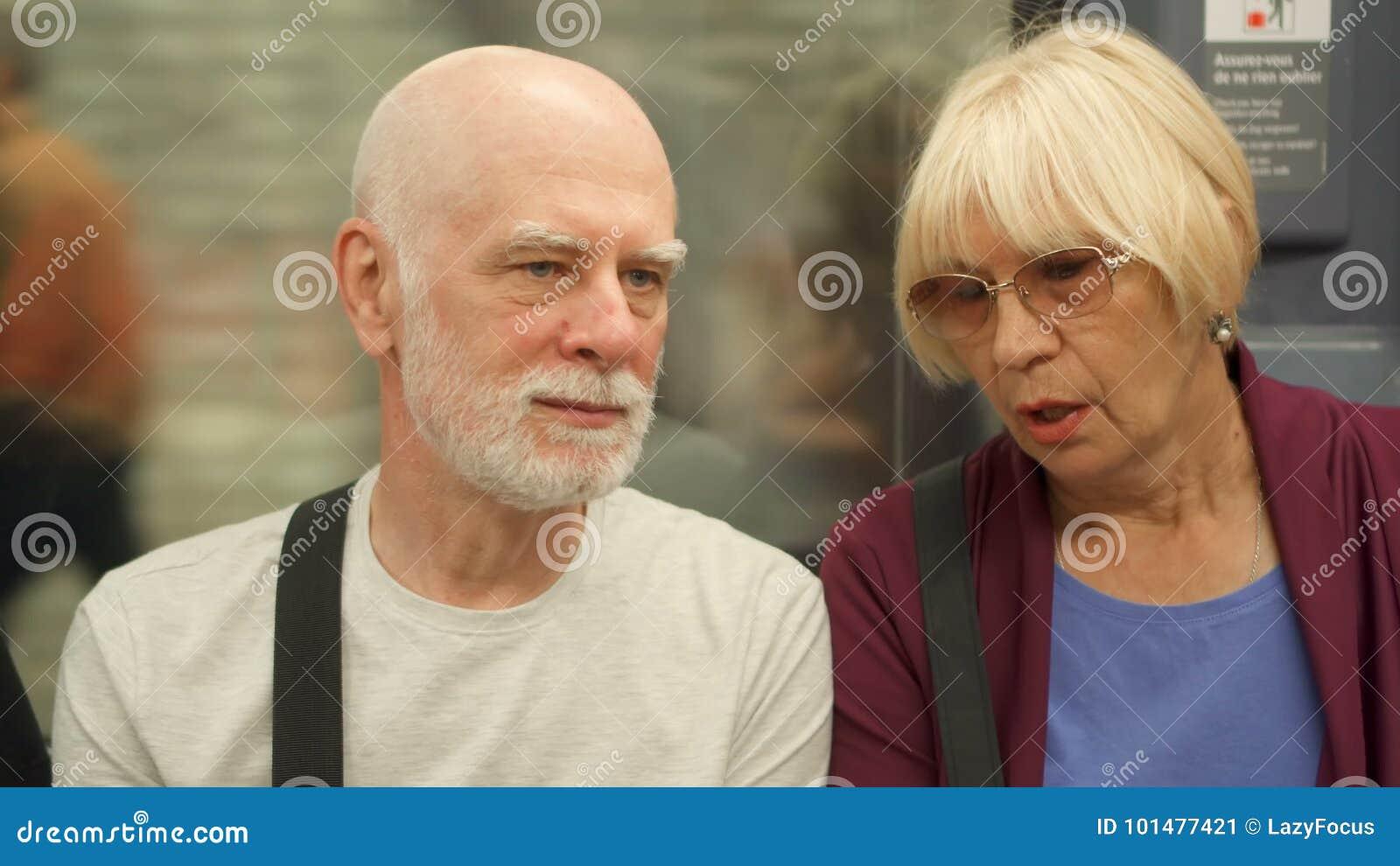 Senior couple tube