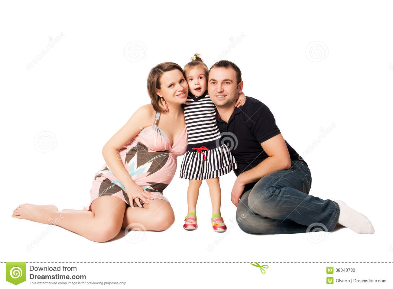 Happy family expecting a new baby stock photo image of for A beautiful you at vesuvio salon studios