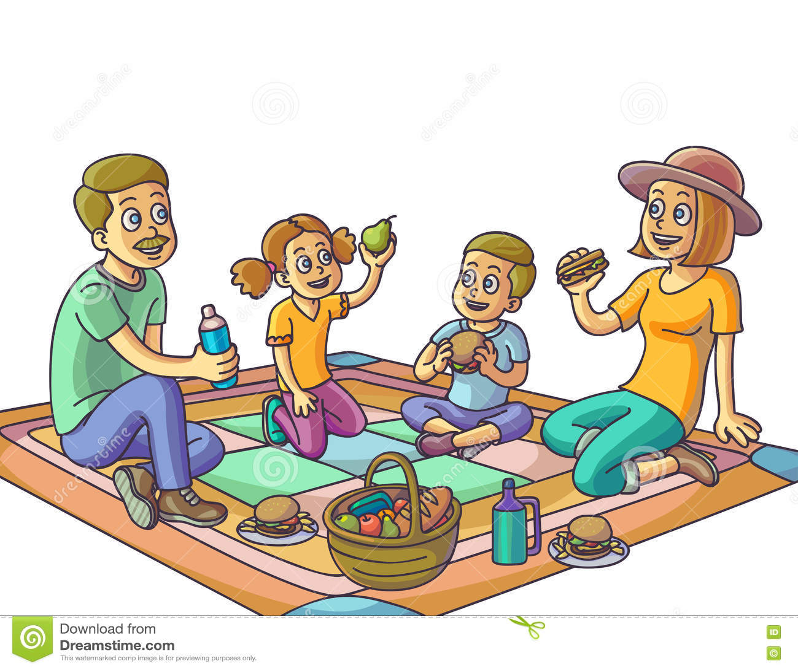 family picnic clipart - photo #43